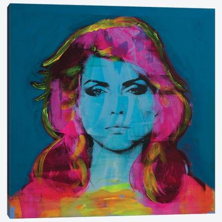 Blondie Debbie Harry Canvas Print #DSU111} by Dane Shue Canvas Artwork