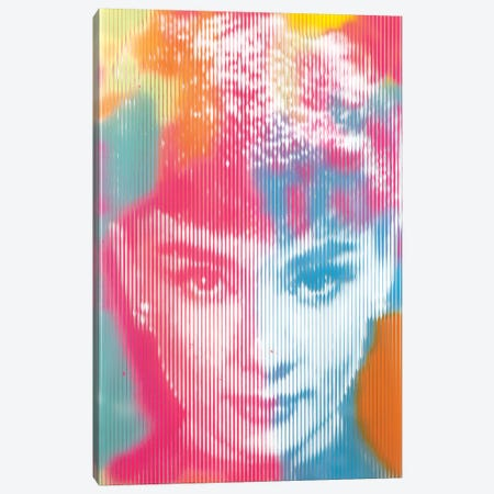 Audrey Hepburn - Multi Canvas Print #DSU12} by Dane Shue Canvas Artwork