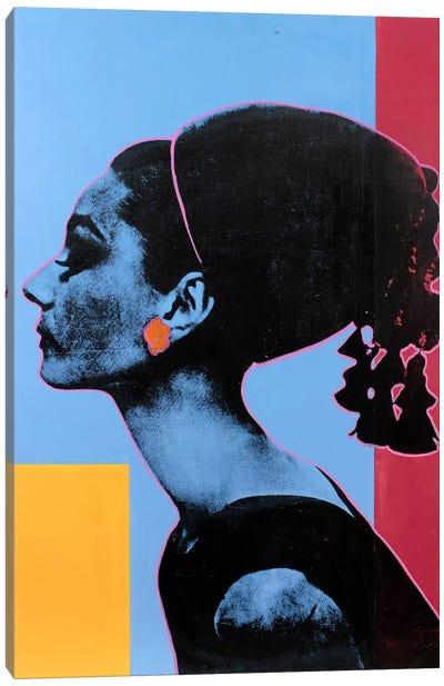 Audrey Hepburn III Canvas Art Print