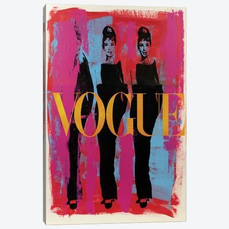 Audrey Hepburn Three Graces Vogue Canvas Print #DSU20} by Dane Shue Canvas Print