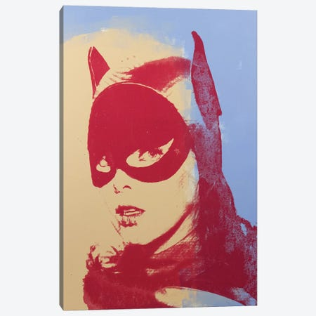 Batgirl, Yvonne Craig Canvas Print #DSU27} by Dane Shue Canvas Wall Art
