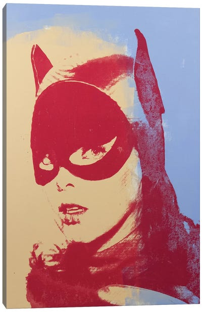 Batgirl, Yvonne Craig Canvas Art Print