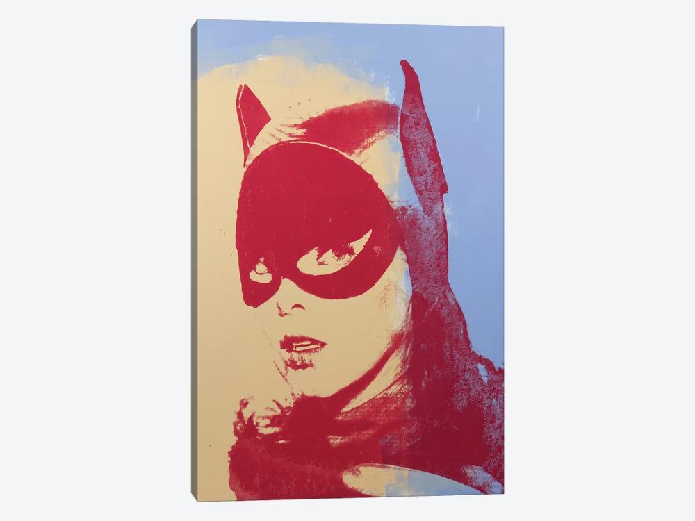 Batgirl, Yvonne Craig by Dane Shue 1-piece Canvas Print