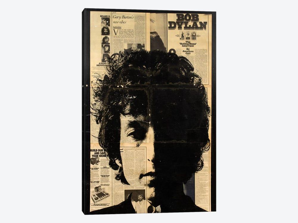 Bob Dylan by Dane Shue 1-piece Canvas Art Print