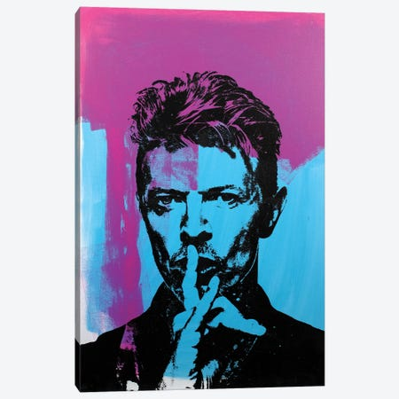 Bowie Canvas Print #DSU31} by Dane Shue Canvas Artwork