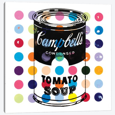 Campbell Tomato Soup Canvas Print #DSU33} by Dane Shue Canvas Wall Art