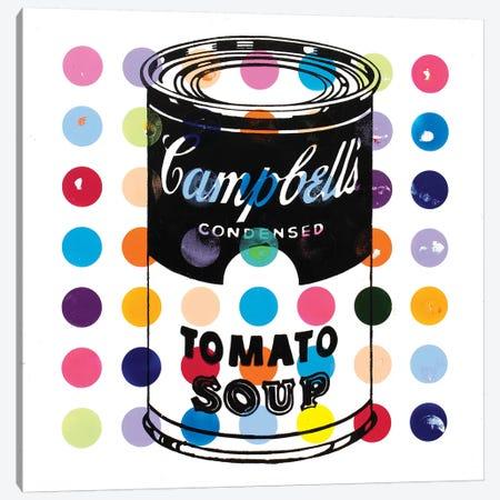 Campbell Tomato Soup Canvas Print #DSU33} by Dane Shue Canvas Wall Art