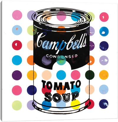 Campbell Tomato Soup Canvas Art Print