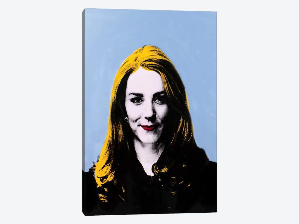 Catherine, Duchess of Cambridge - blue by Dane Shue 1-piece Canvas Print