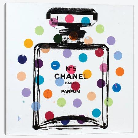 Chanel No. 5 - Dots Canvas Print #DSU38} by Dane Shue Canvas Artwork