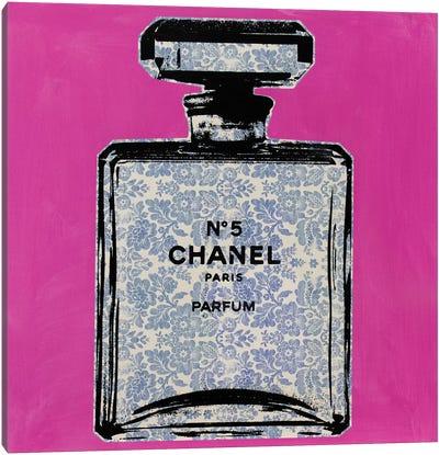 Chanel No. 5 - Floral Canvas Art Print