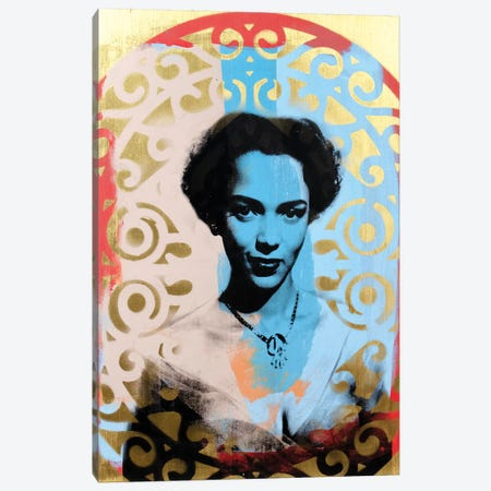 Dorothy Dandridge Canvas Print #DSU46} by Dane Shue Canvas Art
