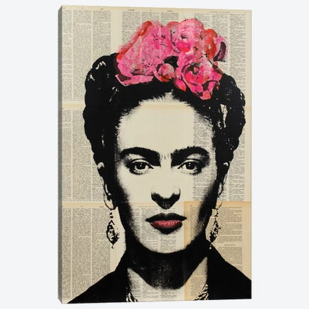 Frida Canvas Print #DSU48} by Dane Shue Art Print