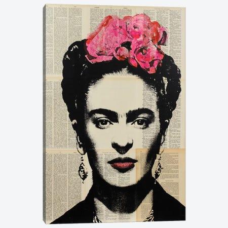 Frida Canvas Print #DSU48} by Dane Shue Art Print