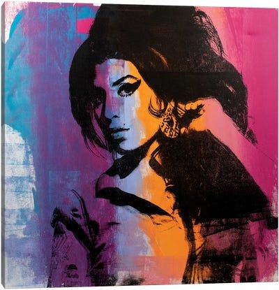 Amy Winehouse II Canvas Art Print