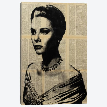 Grace Kelly Canvas Print #DSU53} by Dane Shue Canvas Artwork