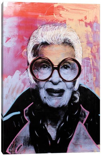 Iris Apfel Canvas Art Print
