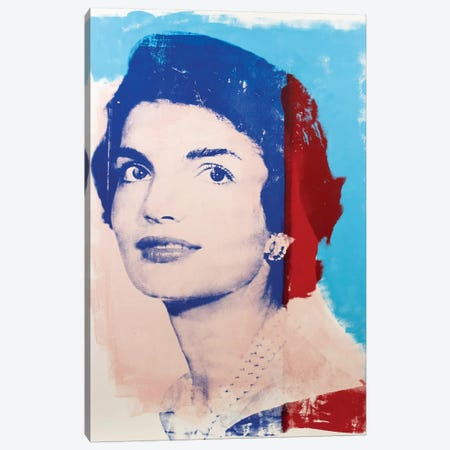 Jackie Kennedy Canvas Print #DSU58} by Dane Shue Canvas Wall Art
