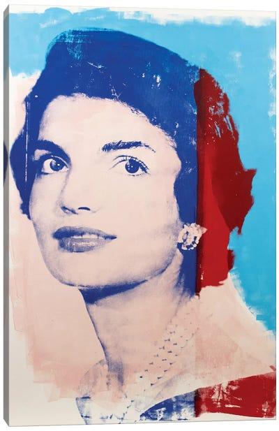 Jackie Kennedy Canvas Art Print