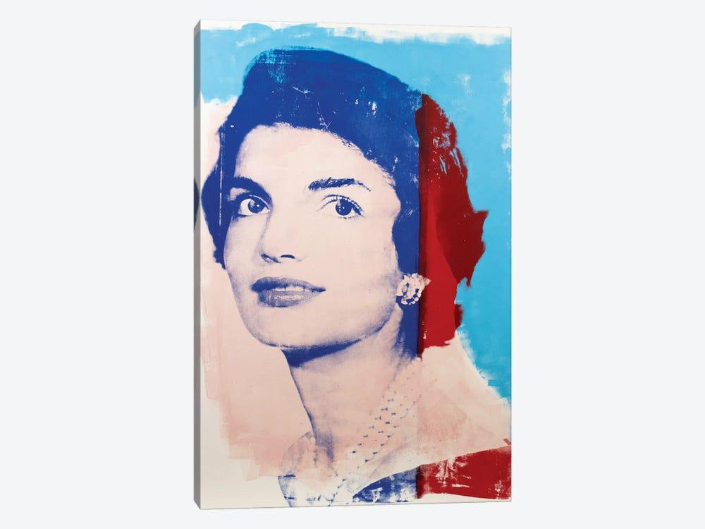 Jackie Kennedy by Dane Shue 1-piece Canvas Art Print