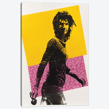 Jackie Kennedy Canvas Print #DSU59} by Dane Shue Canvas Artwork