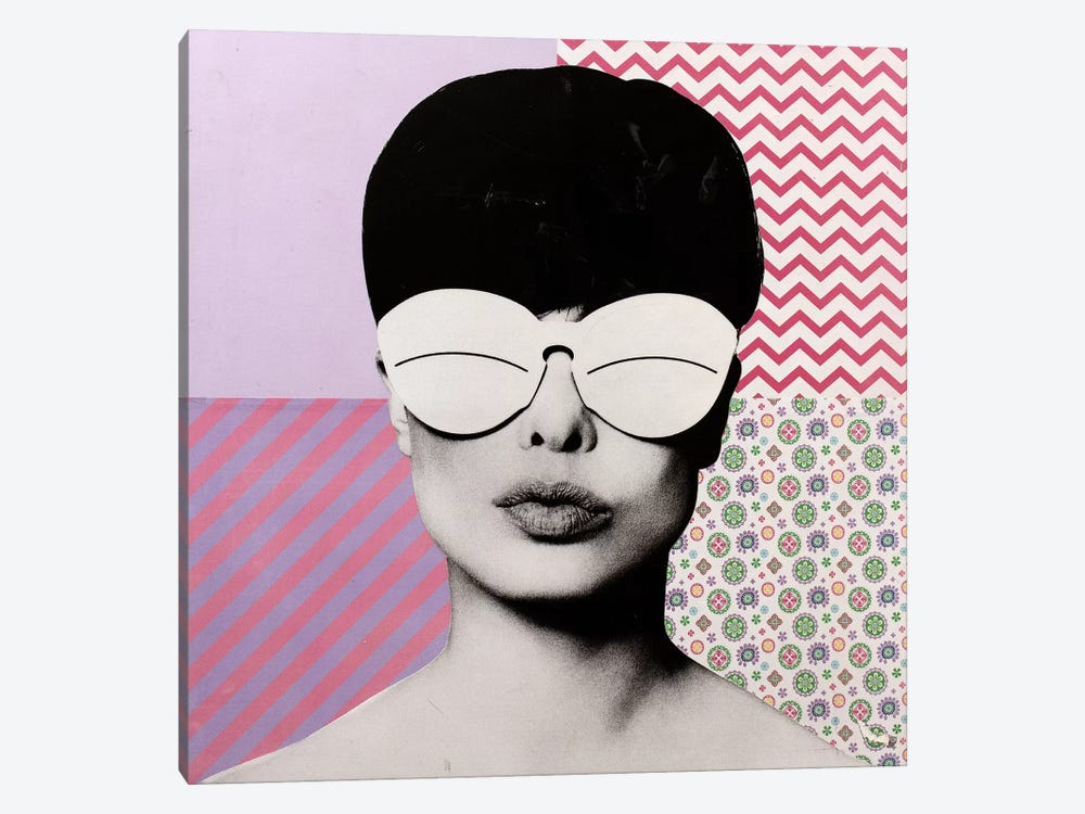 Andre Courreges by Dane Shue 1-piece Canvas Wall Art