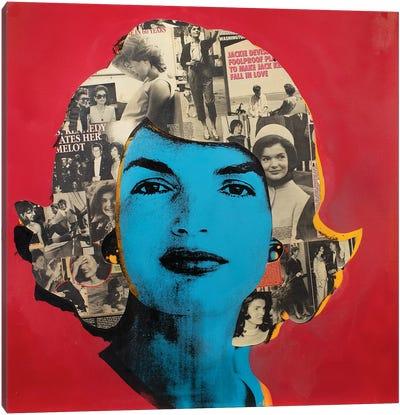 Jackie O Canvas Art Print