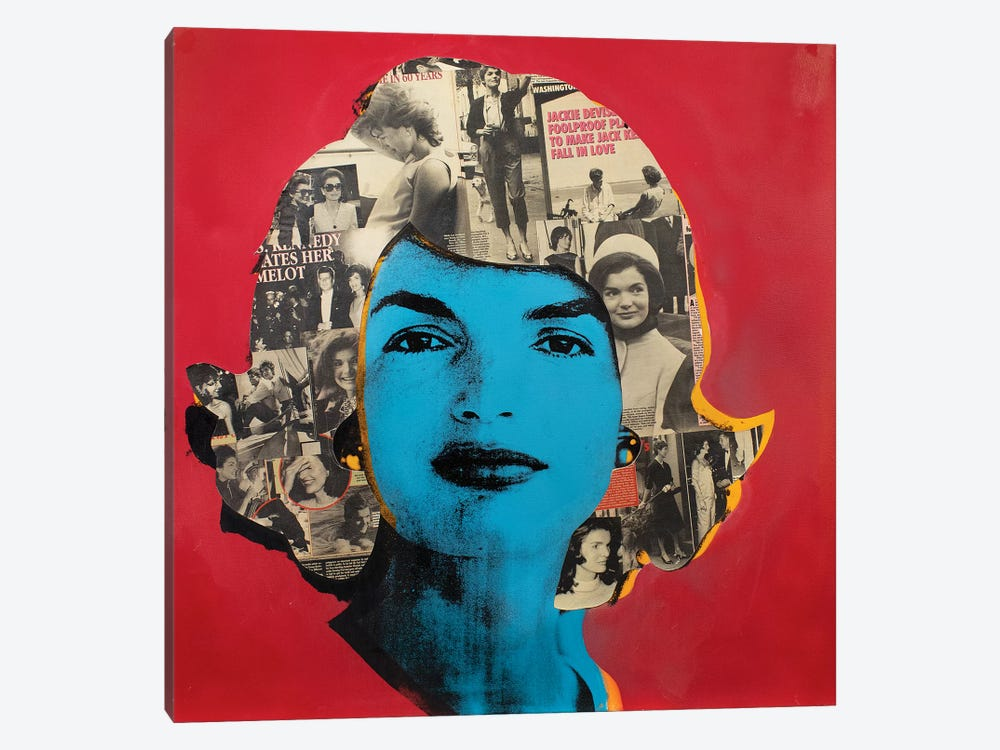 Jackie O by Dane Shue 1-piece Canvas Artwork