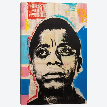 James Baldwin Canvas Print #DSU62} by Dane Shue Canvas Print