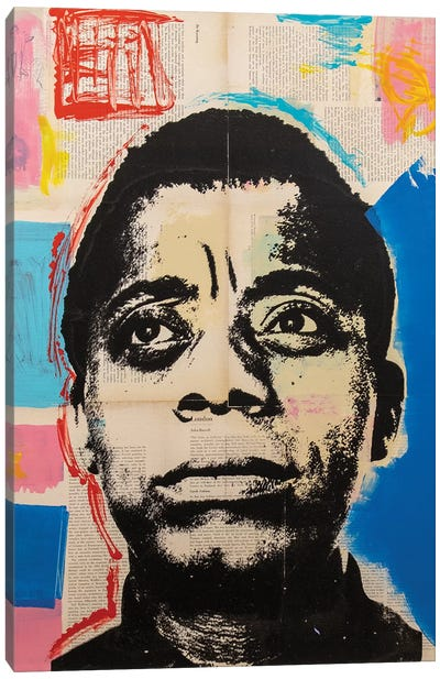 James Baldwin Canvas Art Print