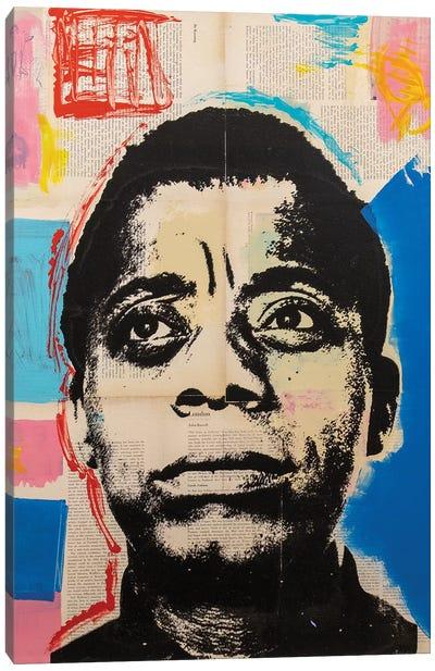 James Baldwin Canvas Art Print