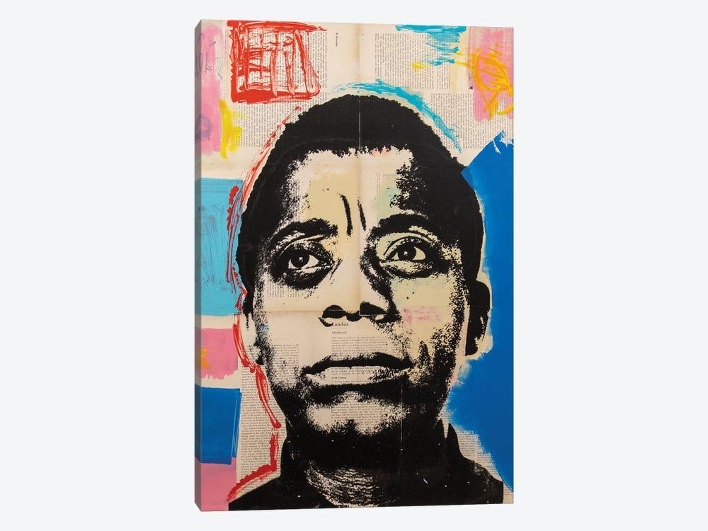 James Baldwin by Dane Shue 1-piece Canvas Artwork
