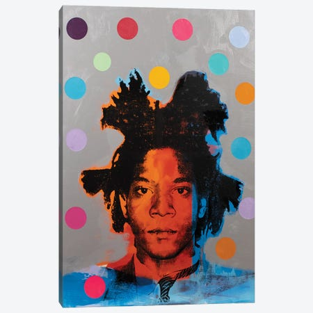 Jean-Michel Basquiat Canvas Print #DSU64} by Dane Shue Canvas Artwork