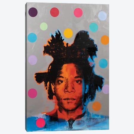Jean-Michel Basquiat Canvas Print #DSU64} by Dane Shue Canvas Artwork