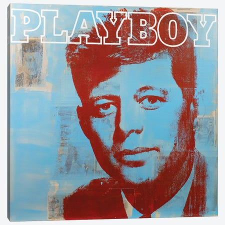 JFK I Canvas Print #DSU65} by Dane Shue Canvas Wall Art