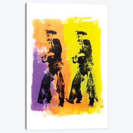 John Wayne Canvas Print #DSU68} by Dane Shue Canvas Art Print