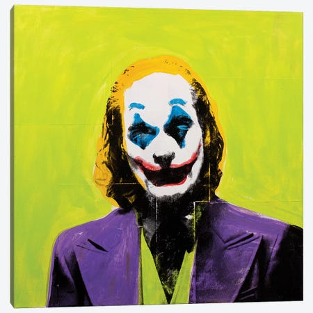 Joker Canvas Print #DSU69} by Dane Shue Canvas Print