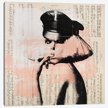 Lady Gaga - Music notes Canvas Print #DSU74} by Dane Shue Art Print