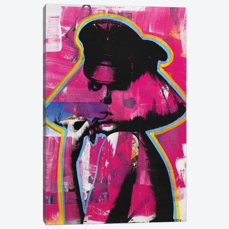 Lady Gaga II Canvas Print #DSU75} by Dane Shue Art Print