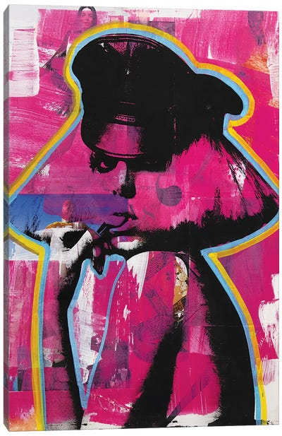 Lady Gaga II Canvas Art Print