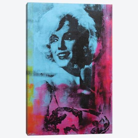 Marilyn Monroe Canvas Print #DSU80} by Dane Shue Art Print