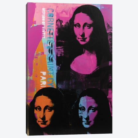 Mona Lisa - 3 Canvas Print #DSU85} by Dane Shue Canvas Wall Art