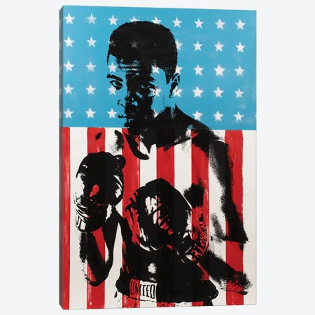 Muhammad Ali Canvas Print #DSU86} by Dane Shue Canvas Artwork