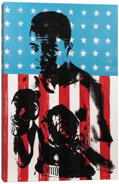 Muhammad Ali Canvas Art Print