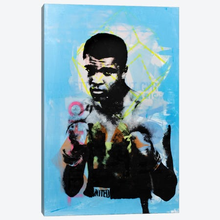 Muhammad Ali - Blue Canvas Print #DSU87} by Dane Shue Canvas Art