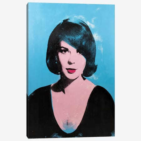 Natalie Wood Canvas Print #DSU88} by Dane Shue Art Print