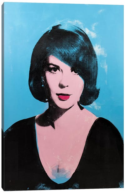 Natalie Wood Canvas Art Print