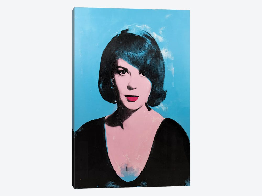 Natalie Wood by Dane Shue 1-piece Canvas Wall Art