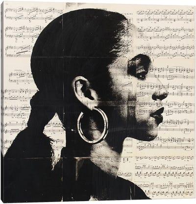 Sade - Music Notes Canvas Art Print