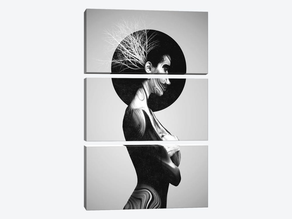 Ellie by Dániel Taylor 3-piece Canvas Print